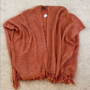 American Eagle cardigan shawl